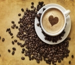 freestock coffee heart