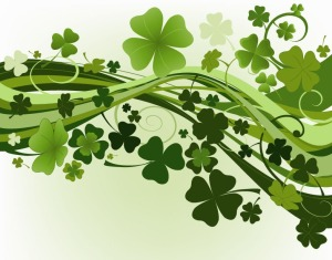 Green-Clovers-Vector-Illustration