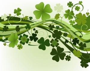 Green-Clovers-Vector-Illustration