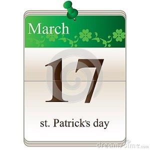 st-patricks-day-calendar-28840825