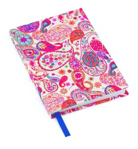 Liberty Paisley Notebook
