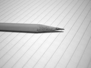 pencil paper freestock