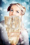 pin-up-woman-cleaning-up-cold-blue-winter-snow-28623149