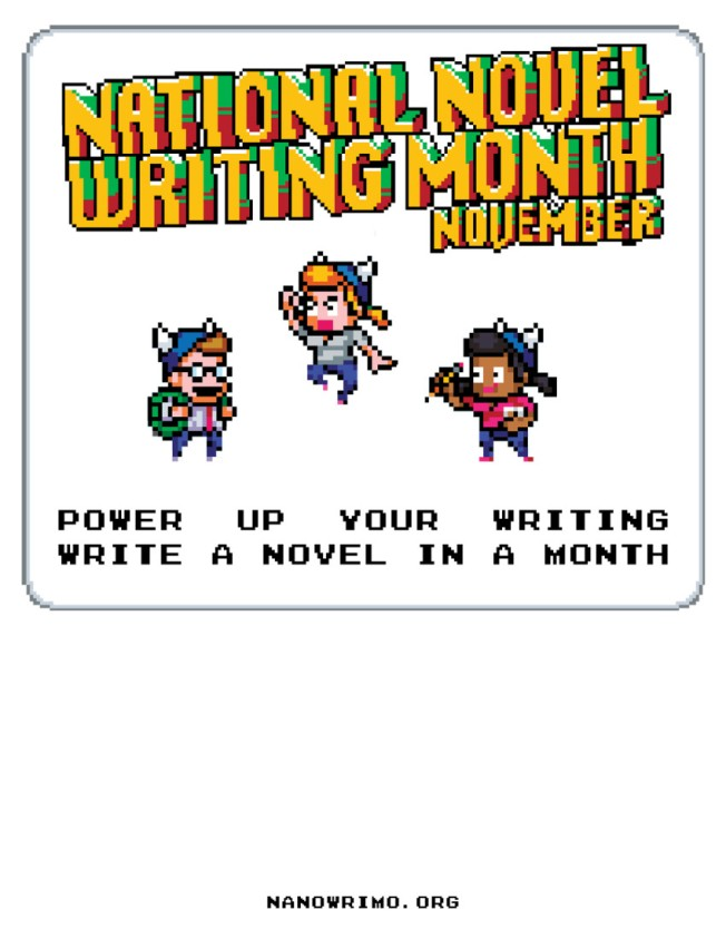 NaNoWriMo-2013-Power-Up-Flyer