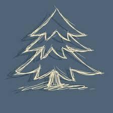 xmas1 chalk tree