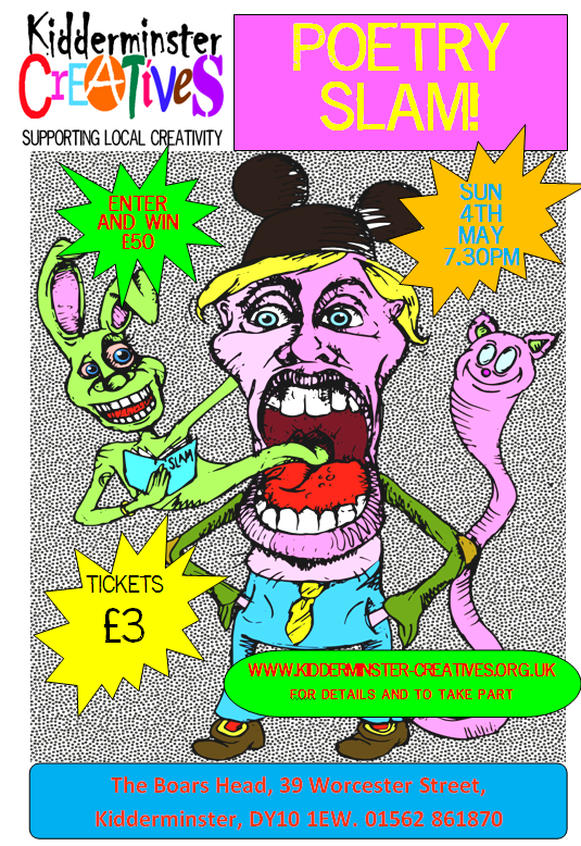 KC Poetry Slam 4th May