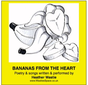 Bananas from the Heart CD sleeve
