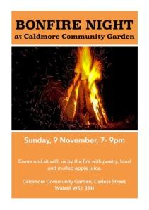 caldmore bonfire