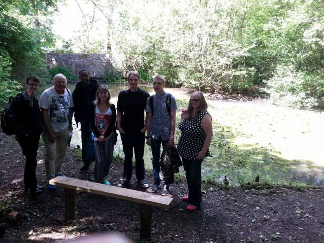 MAC With Frankie Ryan, Tony Fox, Syrac Citam, Timothy Scotson, Callum Bate and Nina Lewis at Cannon Hill Park.