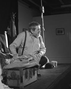 Tony Barrett asThe Tat Man (photo by Stuart Williams).