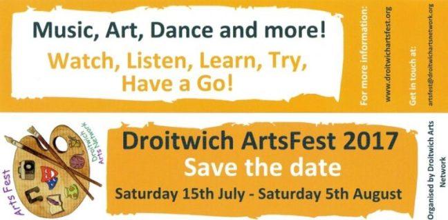 artsfest droitwich standard