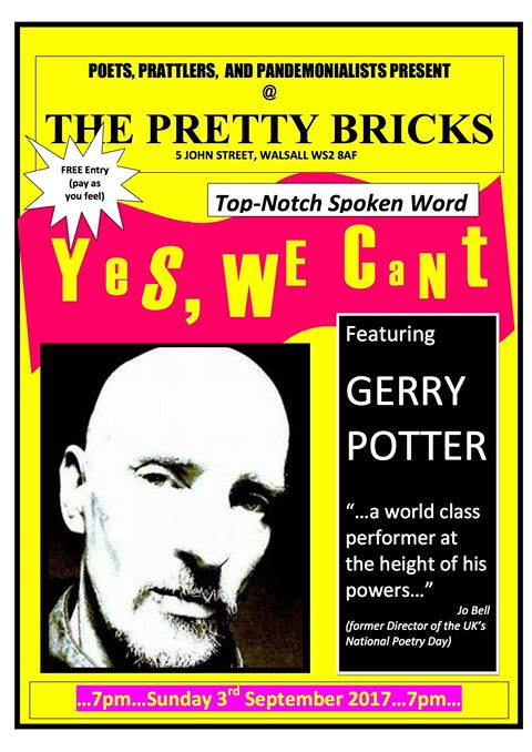 yes we cant gerry potter