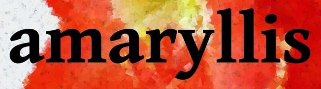 amaryllis logo slim