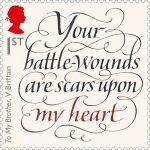 © Royal Mail Group Ltd 2016. Calligraphy by JohnStevens.