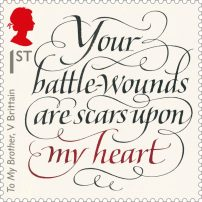 © Royal Mail Group Ltd 2016. Calligraphy by John Stevens.