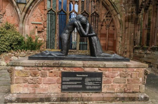 Coventry Cathedral-Statue of Reconciliation