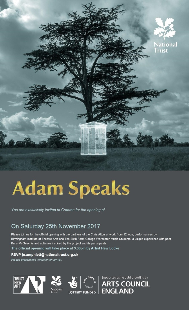 adam speaks launch invite25