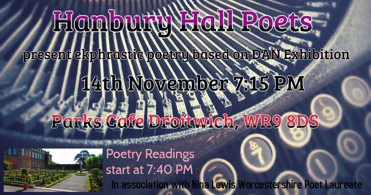 Parks Cafe Hanbury Poems