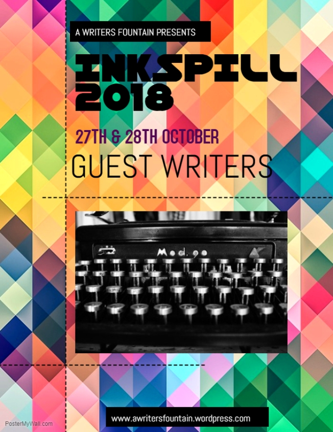 INKSPILL GUESTS - Made with PosterMyWall