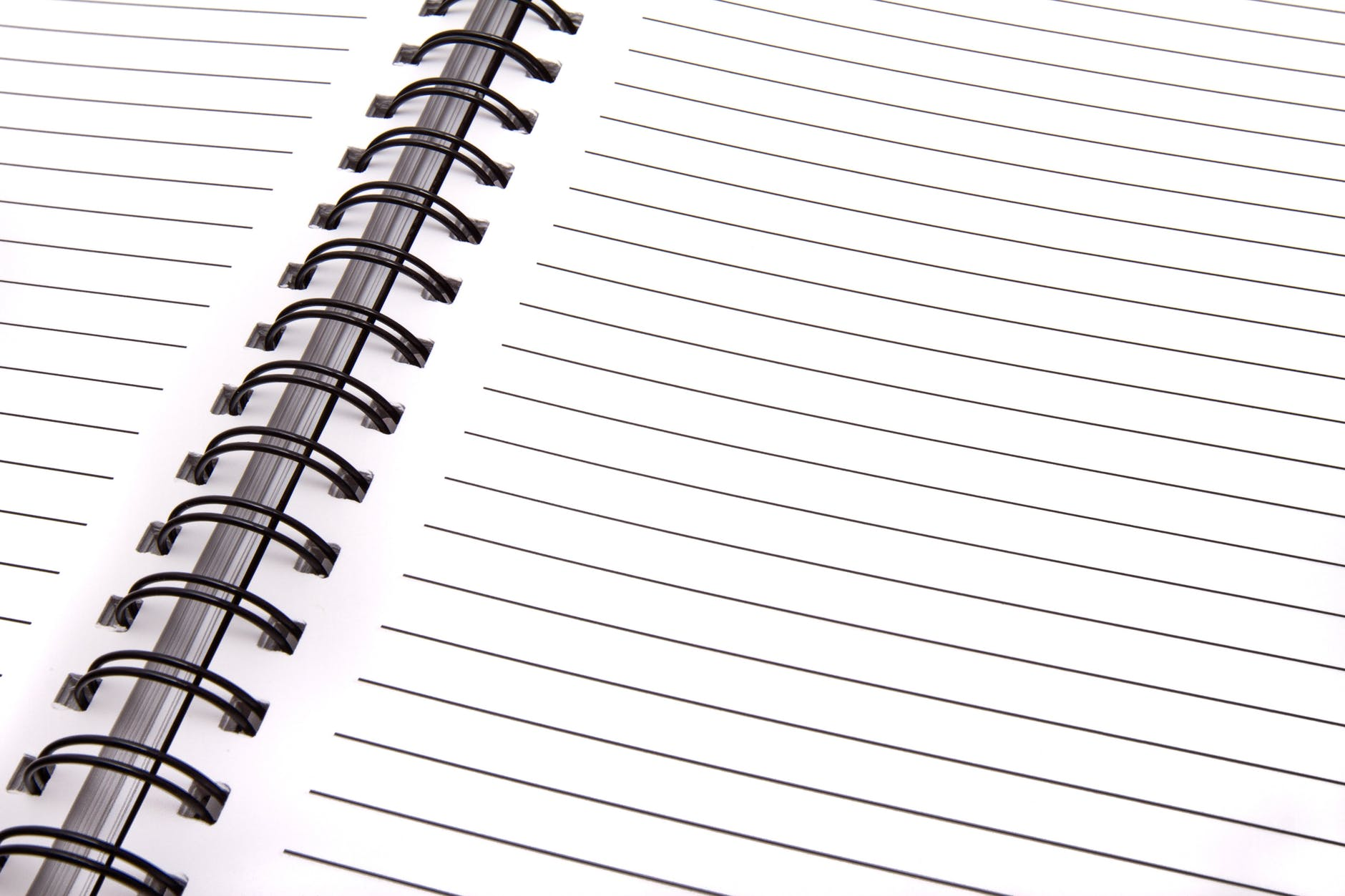blank blank page business data