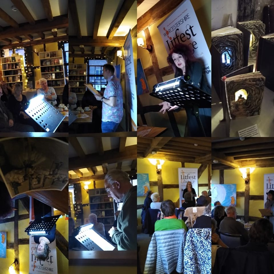 litfest night at gallery
